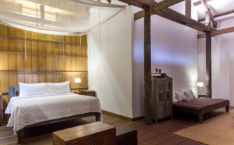 A Restored Bedroom at Sala Lodges
