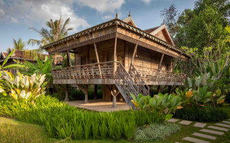 One of the Cambodia Houses