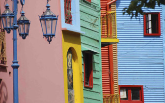 Colourful Streets and Balconies