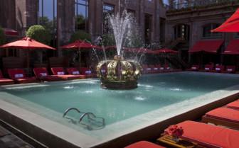 Swimming Pool and Bar