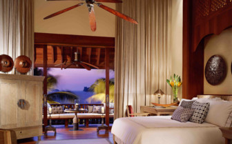 A Bedroom at the Four Seasons Langkawi