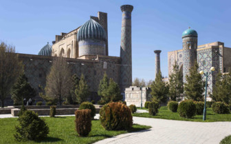 Khiva Buildings and Grass