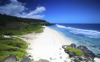 Sprawling Sandy Beach