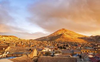Sunset in Potosi