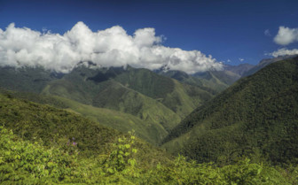 Andes in Summer