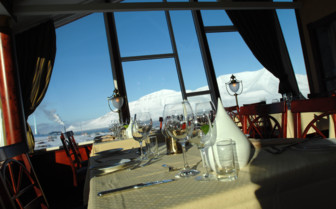 Restaurant with View of Svalbard