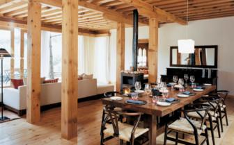 Dining in a Villa