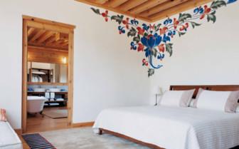 Bedroom in a Villa