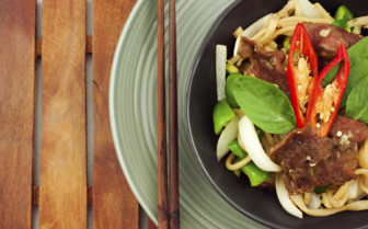 Malaysian Noodle Dish