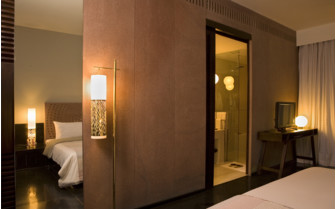 Suite at Raas hotel, luxury hotel in India