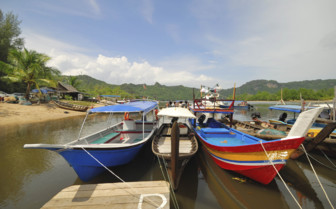 Fishing Boats on Langkawi