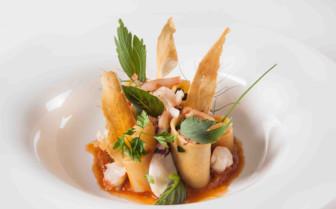 Orange and Green Dish - Italy
