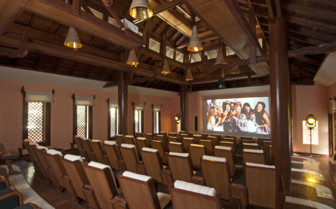 The Hotel's Indoor Cinema - Burma