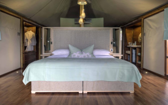 Tents at Ngala Tented Camp
