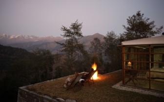 Campfire at 390 Leti, luxury hotel in India