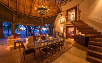 Dining Room, Luangwa Safari House