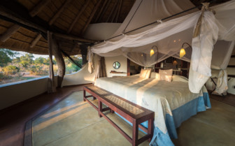Guest Bedroom at the Luangwa Safari House