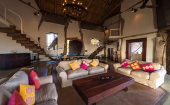 Luangwa Safari House Lounge