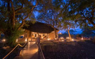 Evening at Luangwa Safari Lodge