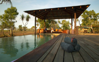 Bamurru Plains pool and decking