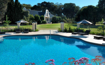Cape Lodge pool