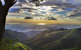 Mountain views of Costa Rica