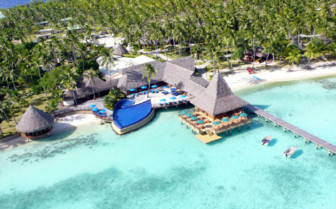 Ariel view of Hotel Ria Ora