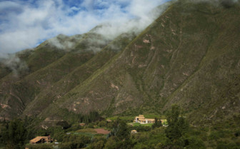 Andes foothills in Peru
