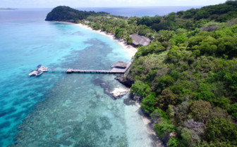Kokomo Island Resort jetty
