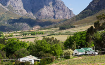 South African mountains and countryside