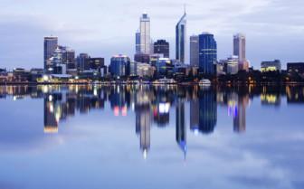 Perth at dusk