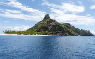 Tropical islands in Fiji