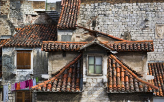 Quaint roofs in Split