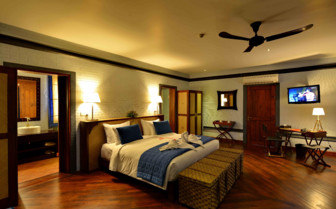 Double bedroom at the lodge