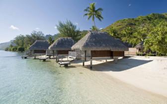 Lagoon bungalow exteriors