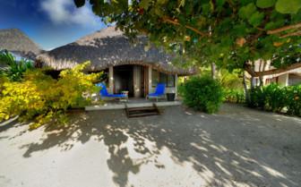 Beach bungalow exterior