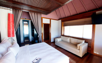 Pool beach villa bedroom
