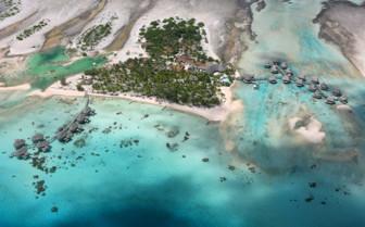 Aerial view of Tikehau