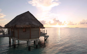 Sunset on Tikehau Island