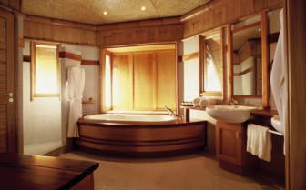 Over water suite bathroom