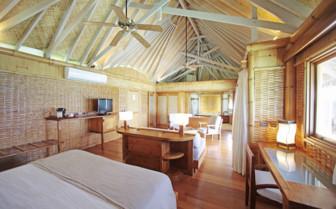 Over water suite interior