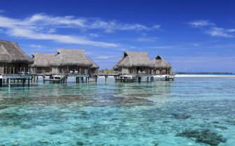 Tikehau over water bungalows