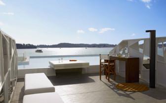 Luux suite private terrace