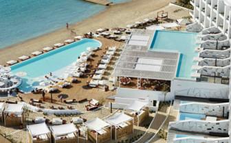 Overview of Nikki Beach Resort
