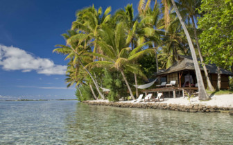 Vahine Island beach suite and lagoon