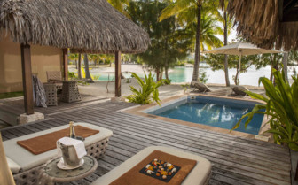 Pool Beach villa at St Regis Resort