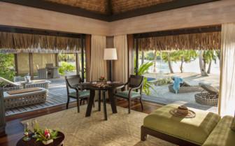 Pool Beach villa living room