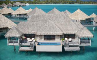 Royal over water villa at St Regis Resort