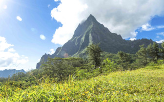 Peaks in French Polynesia