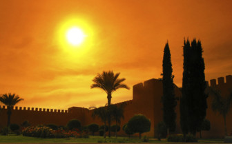 Marrakech royal palace